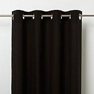 Rideau GoodHome Hiva noir 140 x 260 cm