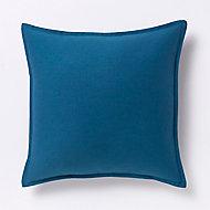 Coussin GoodHome Hiva bleu 60 x 60 cm
