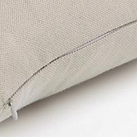 Coussin GoodHome Taowa beige 50 x 50 cm