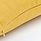Coussin GoodHome Taowa jaune 50 x 50 cm