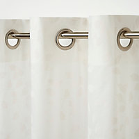 Voilage GoodHome Miri blanc 140 x 260 cm
