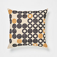 Coussin Goa orange 45 x 45 cm