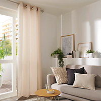 Coussin Pondicherry blanc 50 x 50 cm