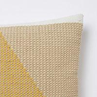 Coussin Sagar jaune 45 x 45 cm