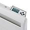 Radiateur électrique double coeur de chauffe Cisco 1500W