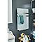 Radiateur sèche-serviettes électrique soufflant «PAROI DE VERRE» 500+900W