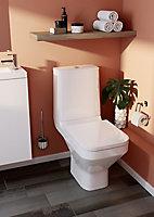 Pack WC à poser sans bride avec sortie horizontale GoodHome Teesta
