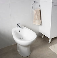 Bidet de toilette GoodHome Baciu à poser