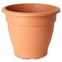 Pot rond plastique Blooma Florus terracotta ø50 x h.34 cm