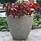 Pot rond ciment BLOOMA Hoa gris clair ø41 x h.35 cm