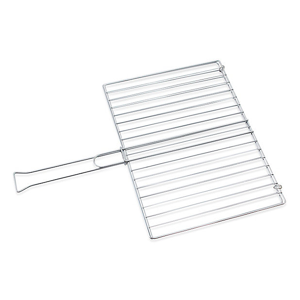 Grille de barbecue double Blooma 40 x 29 cm