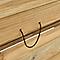 Bac à sable avec bancs Blooma 120 x 120 cm