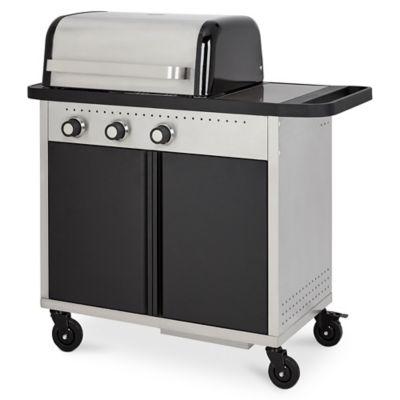 Barbecue à gaz goodhome rockwell 310 noir