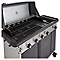 Barbecue à gaz Blooma Rockwell 450 noir