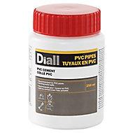 Colle pour PVC et tuyau en PVC Diall 250ml