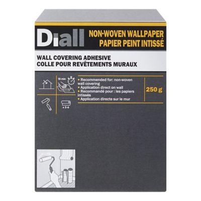 Colle pour papier peint intissé Diall 5 rouleaux
