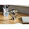 Mini ventilateur en métal couleur argent