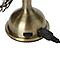 Mini ventilateur en métal couleur laiton