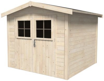 Abri de jardin bois, 5 m² ép.19 mm | Castorama