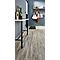 Sol stratifié à clipser Camiri décor chêne gris 8 mm + 2 mm de sous-couche intégrée (vendu à la botte) - L.138 x l.19.3 cm