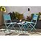 Chaise de jardin blooma saba biscay bay pliante