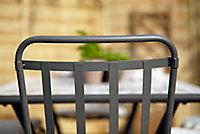 Chaise de jardin en métal Blooma Sofia
