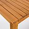 Table de jardin bois rectangulaire Blooma Denia 150 x 90 cm