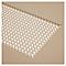 Table de jardin métal rectangulaire Blooma Dorsey muscade 150 x 85 cm
