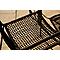Chaise de jardin métal Blooma Oberon noir