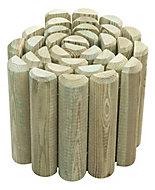 Bordure demi rondin Blooma 200 x h.25 cm