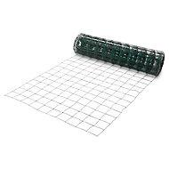 Grillage soudé maille 100 x 100 mm vert 25 x h.1 m