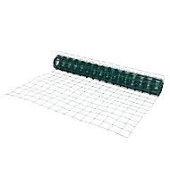 Grillage soudé maille 100 x 100 mm vert 20 x h.1 ,5 m