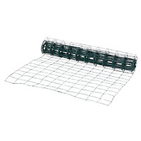 Grillage soudé Blooma maille 75 x 100 mm vert 10 x h.1 m
