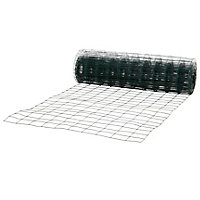 Grillage soudé Blooma maille 75 x 100 mm vert 25 x h.1 m