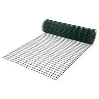 Grillage soudé Blooma maille 50 x 100 mm vert 20 x h.1 m