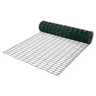 Grillage soudé Blooma maille 50 x 100 mm vert 20 x h.1,2 m