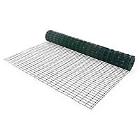 Grillage soudé Blooma maille 50 x 100 mm vert 20 x h.2 m