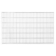 Panneau de clôture grillagée Blooma Koura gris 198,5 x h.123 cm