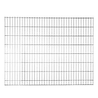 Panneau de clôture grillagée Blooma Koura gris 198,5 x h.153 cm