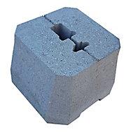 Plot béton pour poteaux de clôture grillagée