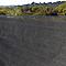 Brise vue tissé Blooma gris 3 x h.1,2 m