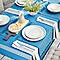 2 sets de table Blooma Rural bleu