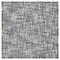 Plaid tissé Blooma Rural 130 x 170 cm blanc