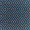 Tapis Blooma Rural 120 x 170 cm bleu gris