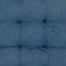 Galette de chaise capitonnée Blooma Rural bleu