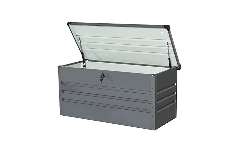 Coffre de rangement métal Blooma 956L | Castorama
