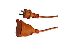 Rallonge orange Diall H05VVF 3G1 5mm² 40m avec clapet