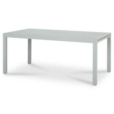 Table de jardin aluminium rectangulaire blooma baldi grise 178 271 x 100 cm castorama - Table jardin aluminium la rochelle ...