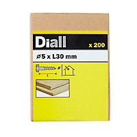 Tirefonds DIN 571 zingués 5x30 mm - 200pièces