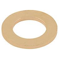 Rondelles plates étroites en laiton ø10mm - 10pièces